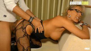 AMATEUR EURO – German Hot MILF Lana Vegas Finally Has The Chance To Fuck Her Young Neighbor